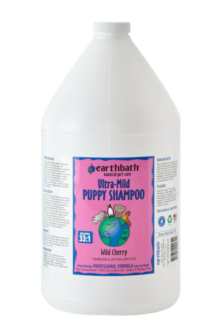 Earthbath® Wild Cherry Ultra-Mild Puppy Shampoo