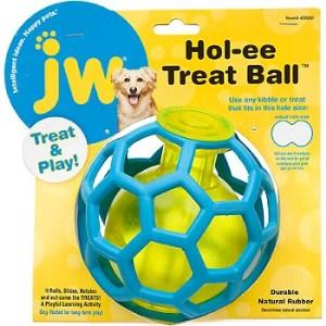 JW Pet Hol-ee Roller Treat Dispensing Ball Color Varies