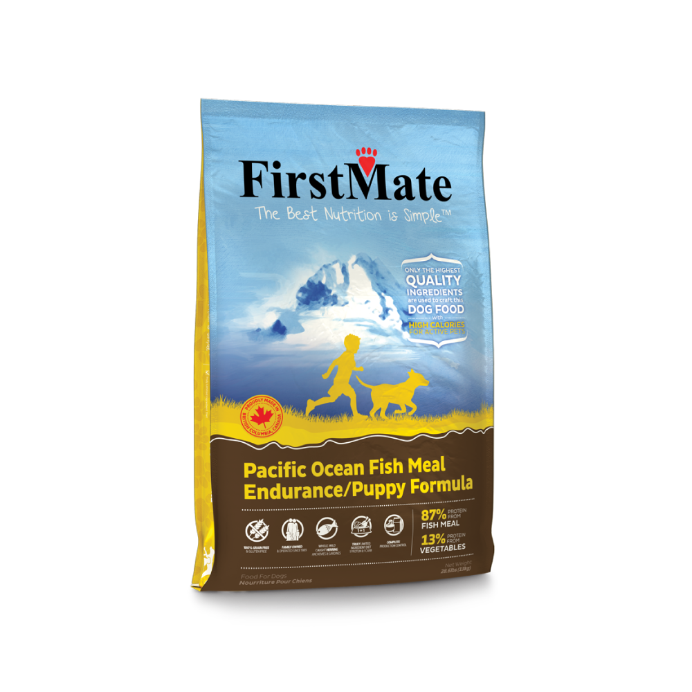 FirstMate™ Grain Free Pacific Ocean Fish Meal Endurance Puppy Formula Dog Food