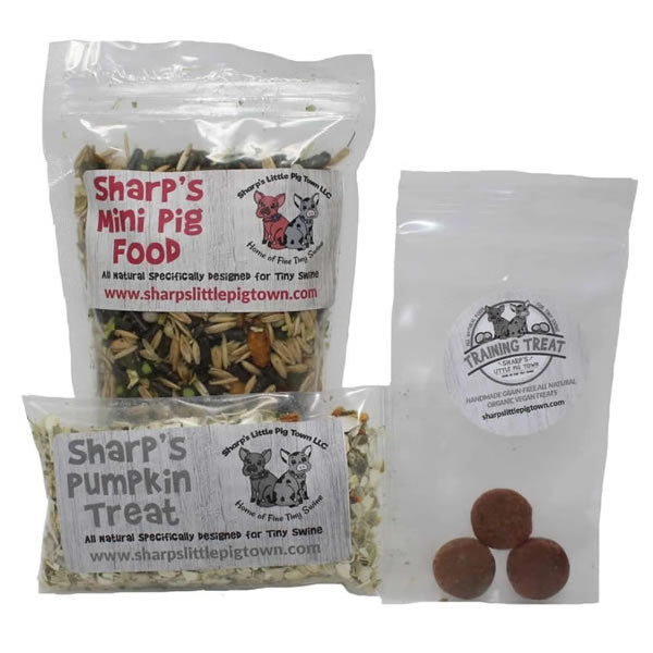 Mini Pig Food Sample Pack