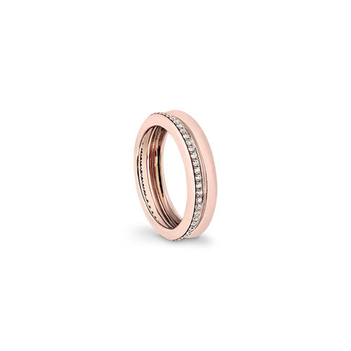 Prima - Rose Gold White Diamonds Ring