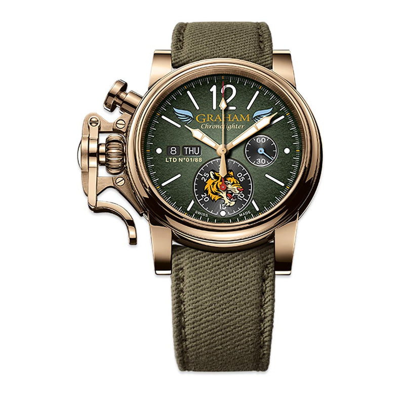 Chronofighter Bronze Flying Tigers Ltd Edition