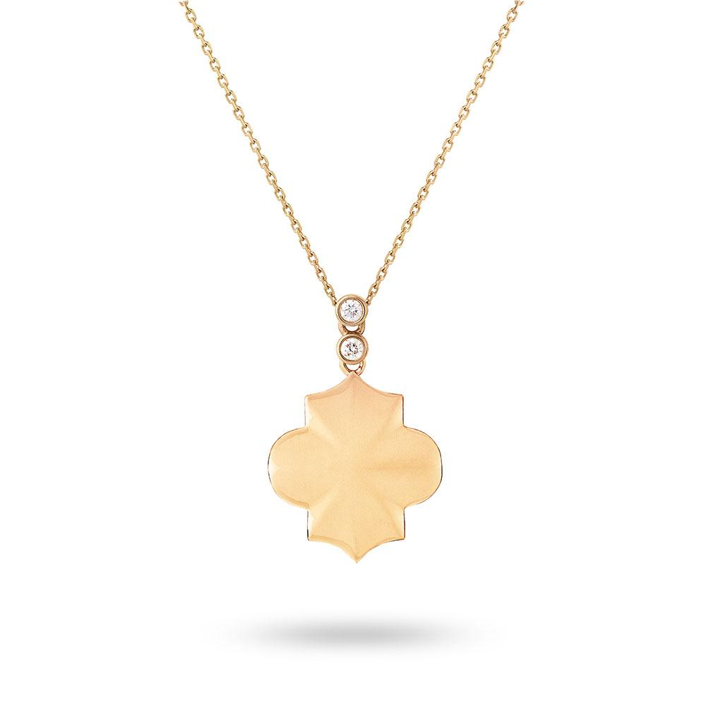 Regal - Yellow Gold Trellis Necklace