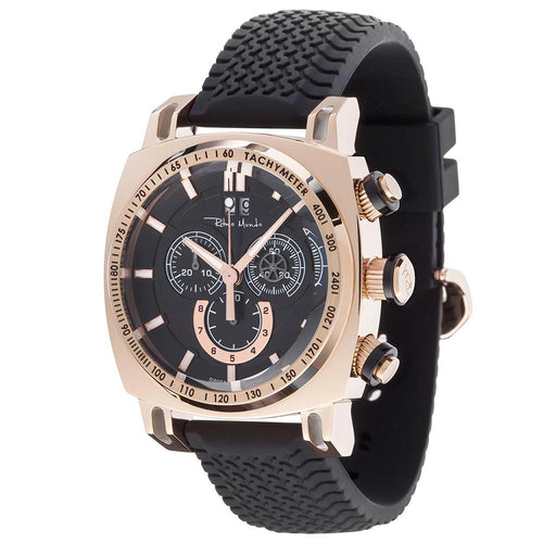 Racer Chrono 2221/8 Rose Gold Black