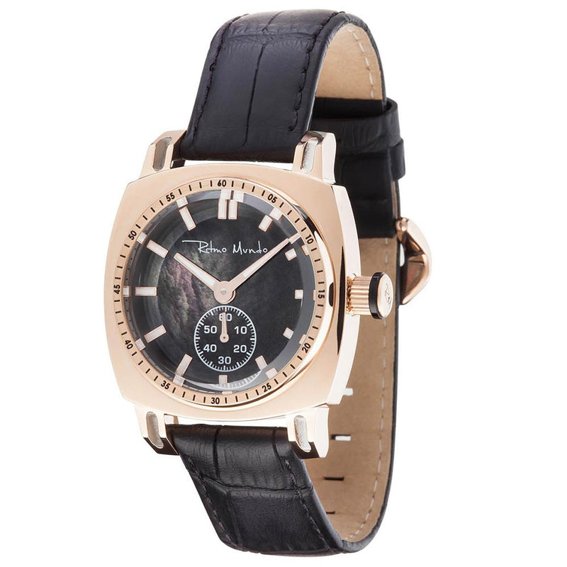 Ladies Racer 2231/2 Rose Gold Black