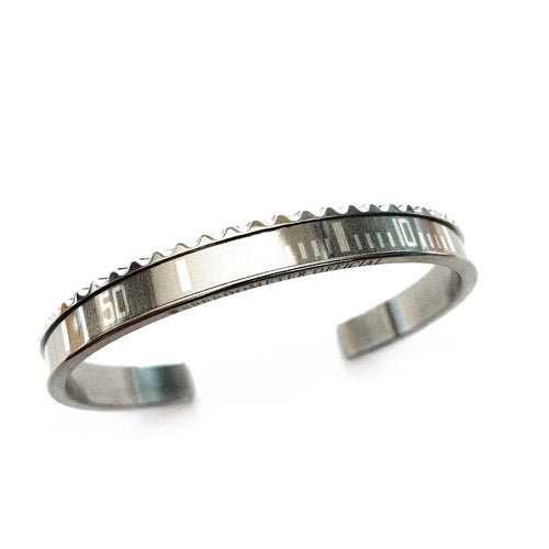 Classic Steel Bangle Grey Insert