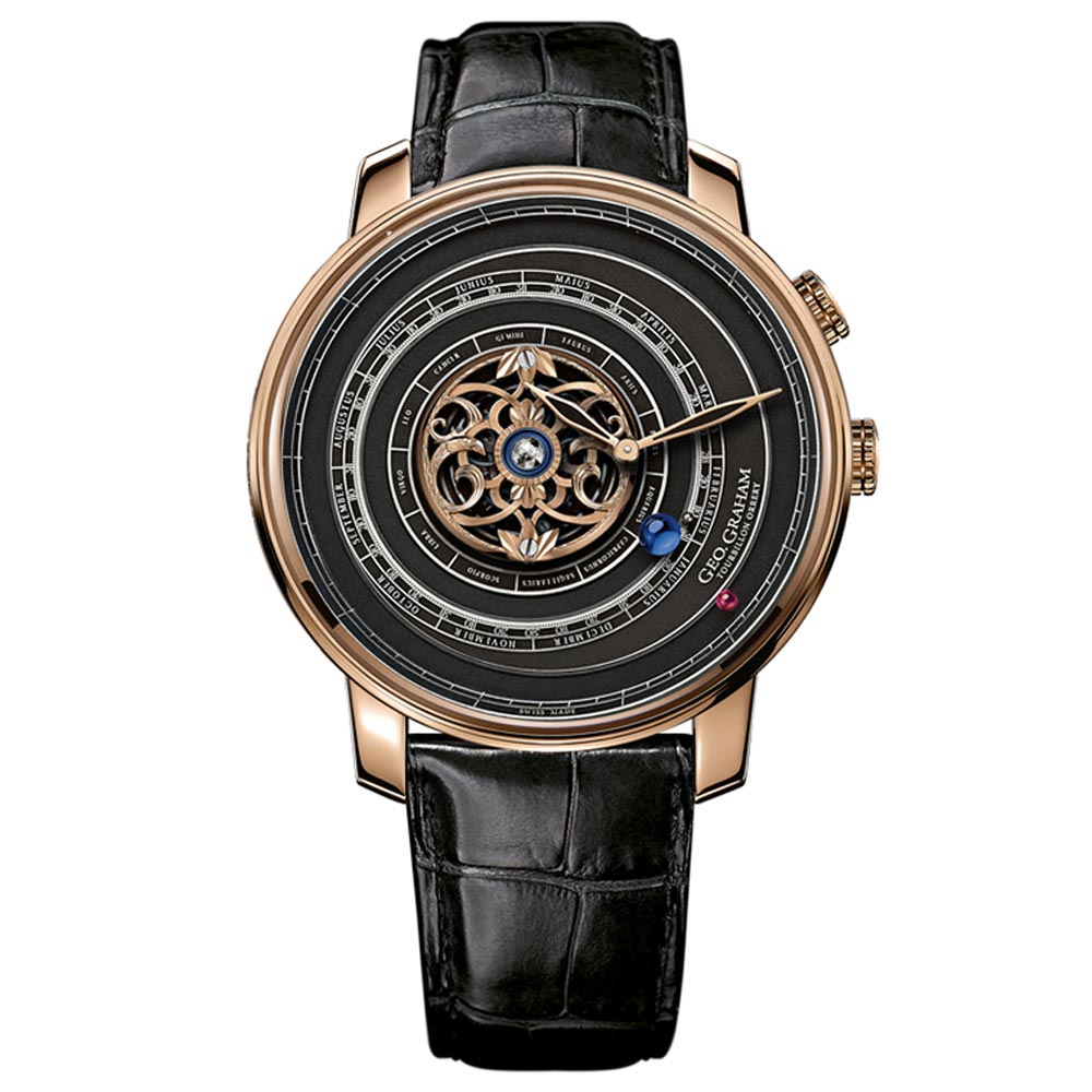 Geo.Graham Orrery Tourbillon.
