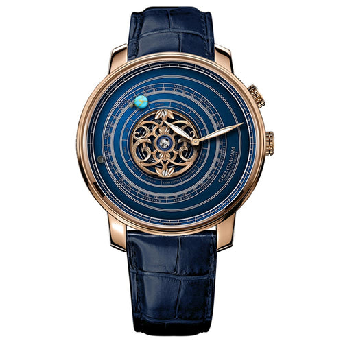 Geo.Graham Orrery Tourbillon. Blue Edition