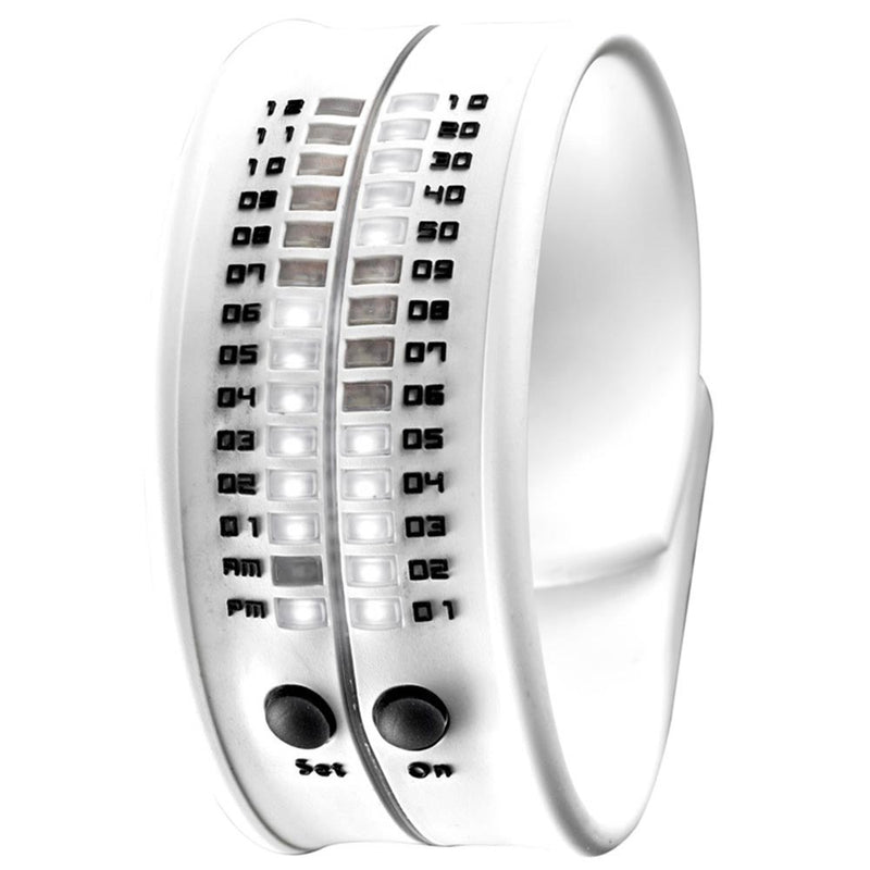 White Reflex Watch