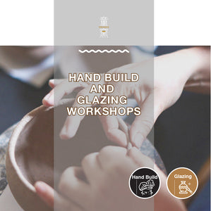 Throwing/Hand-building and Glazing Workshop Gift Card 拉坯/手捏+上釉工作坊