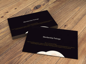 Membership Package Gift Card