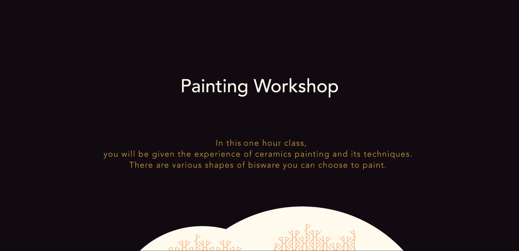 Painting Workshop Gift Card 陶瓷繪畫工作坊