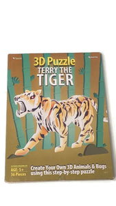 3D Terry the Tiger Puzzle