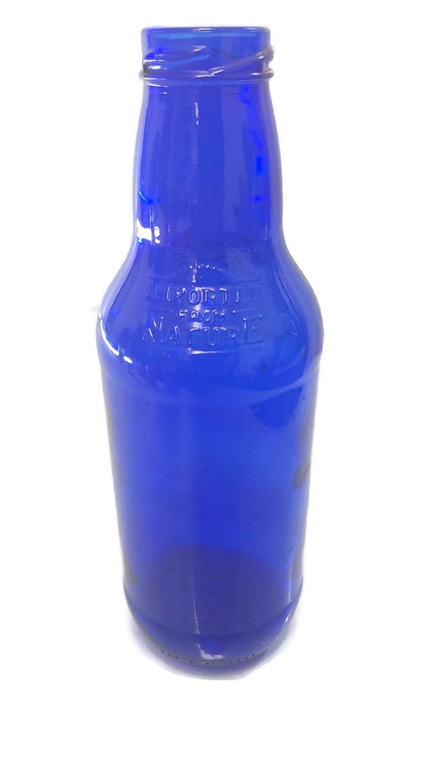 Imported from Nature - Cobalt Blue Bottle