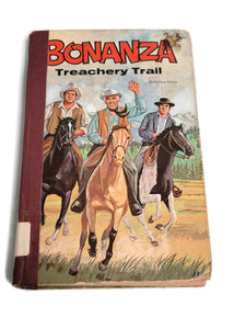Bonanza Treachery Trail Vintage Authorized Edition 1968