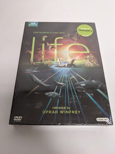 Life (BBC DVD, 2010, Complete 4-Disc Set) Narrated By Oprah Winfrey