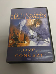 HALL & OATS - Live In Concert - DVD