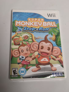 Sealed Super Monkey Ball Step & Roll for Nintendo Wii