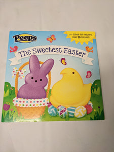 Peeps the Sweetest Easer - Sticker Book