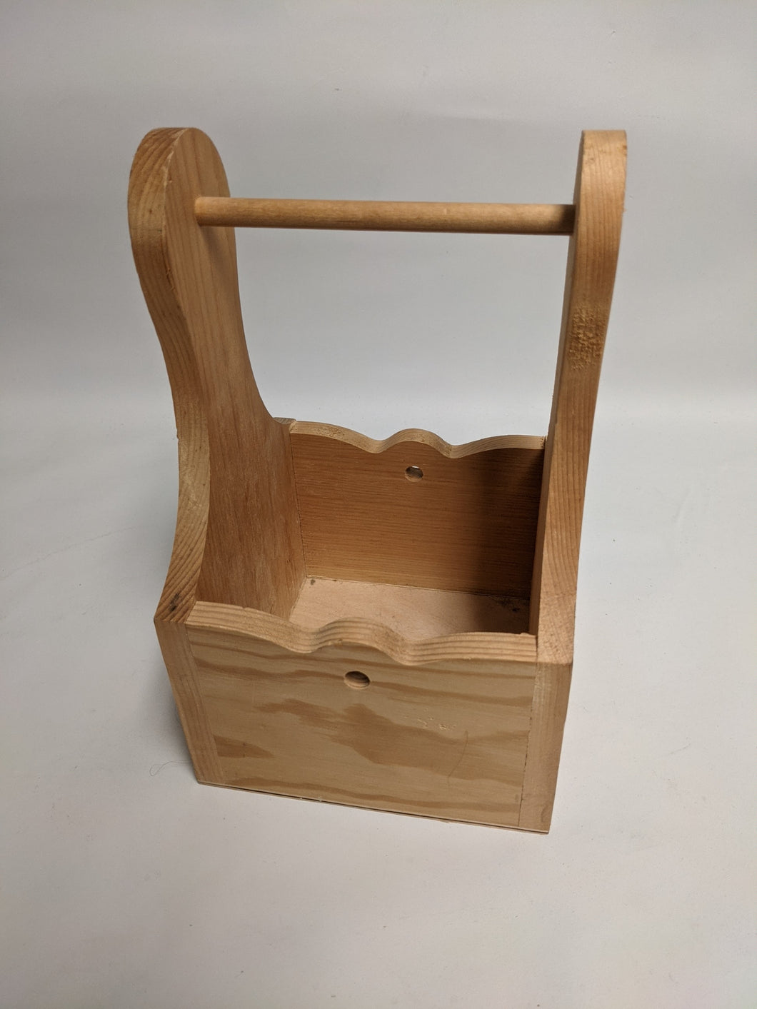 Wooden Box w/ Handle