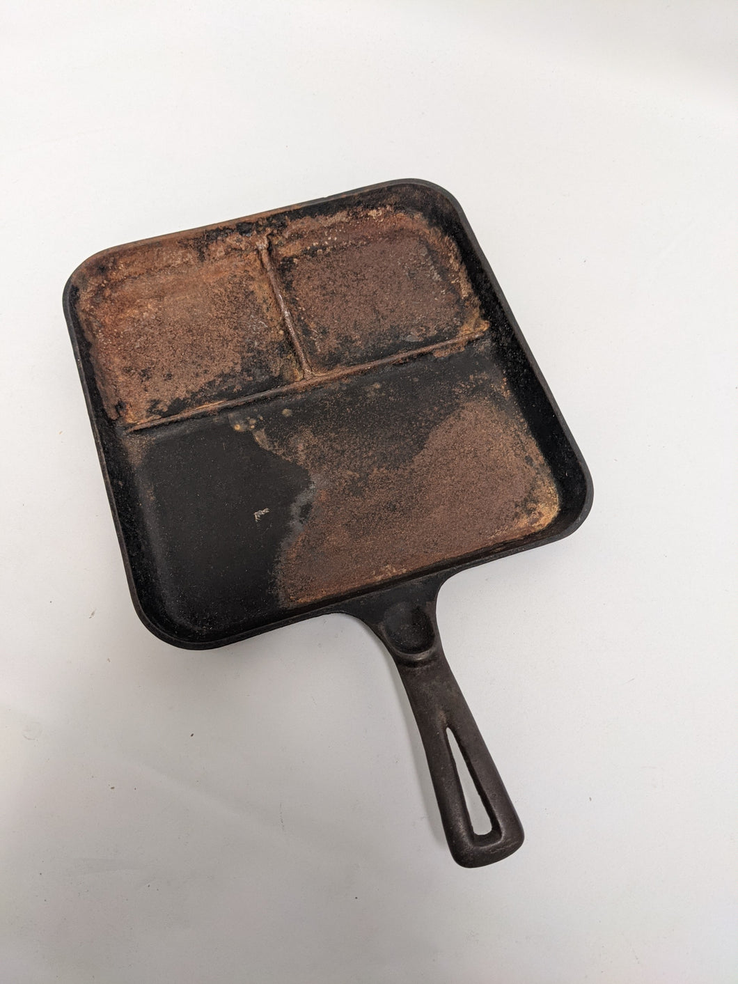 Rusted Cast Iron