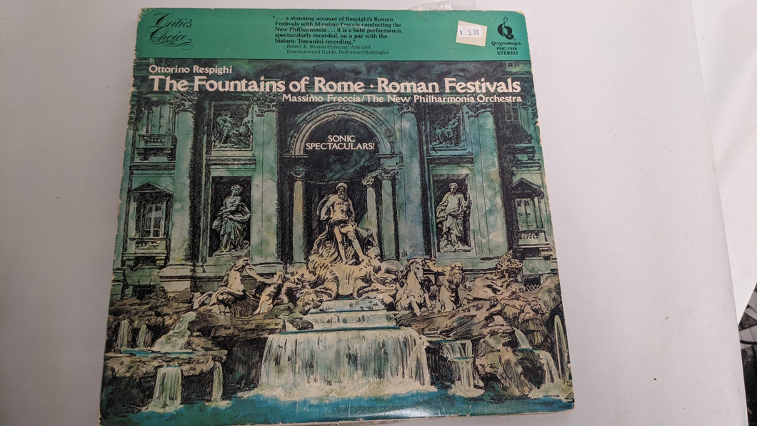the fountains of rome - vinyl