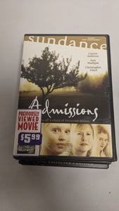 ADMISSIONS - DVD