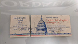 United States Capital Tour Ticket Stub