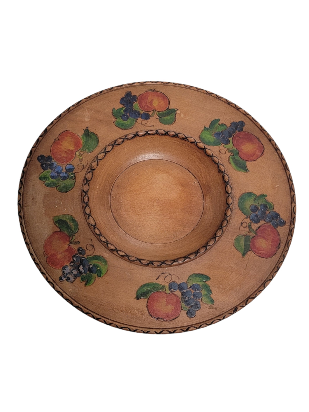 Wooden Fruit Dish
