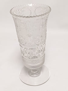 Glass Cut Crystal Vase