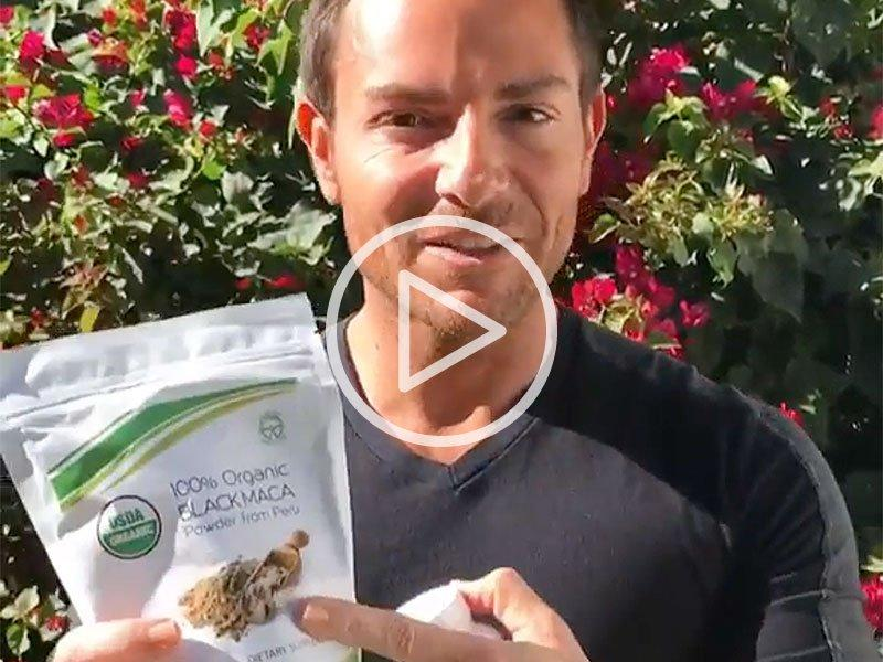 Black Maca Video Testimonial | Natural Body Healing and Growth - Mother Nature Organics
