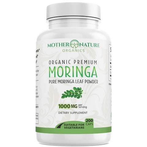 Moringa Capsules - Mother Nature Organics
