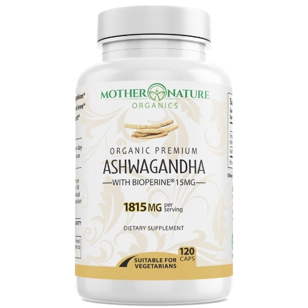Ashwagandha Capsules - Mother Nature Organics