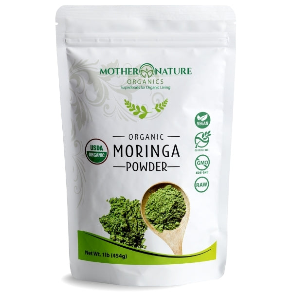Moringa Powder - Mother Nature Organics