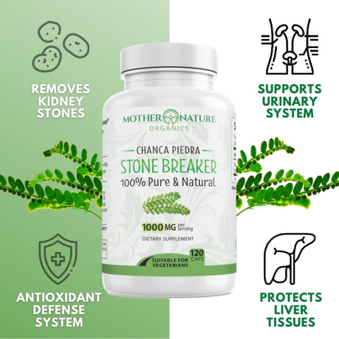 Stone Breaker Capsules - Mother Nature Organics