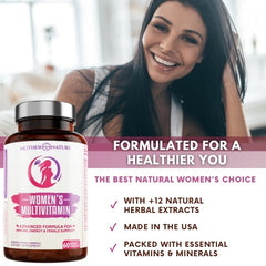 Women's Complete Multivitamin - Mother Nature Organics