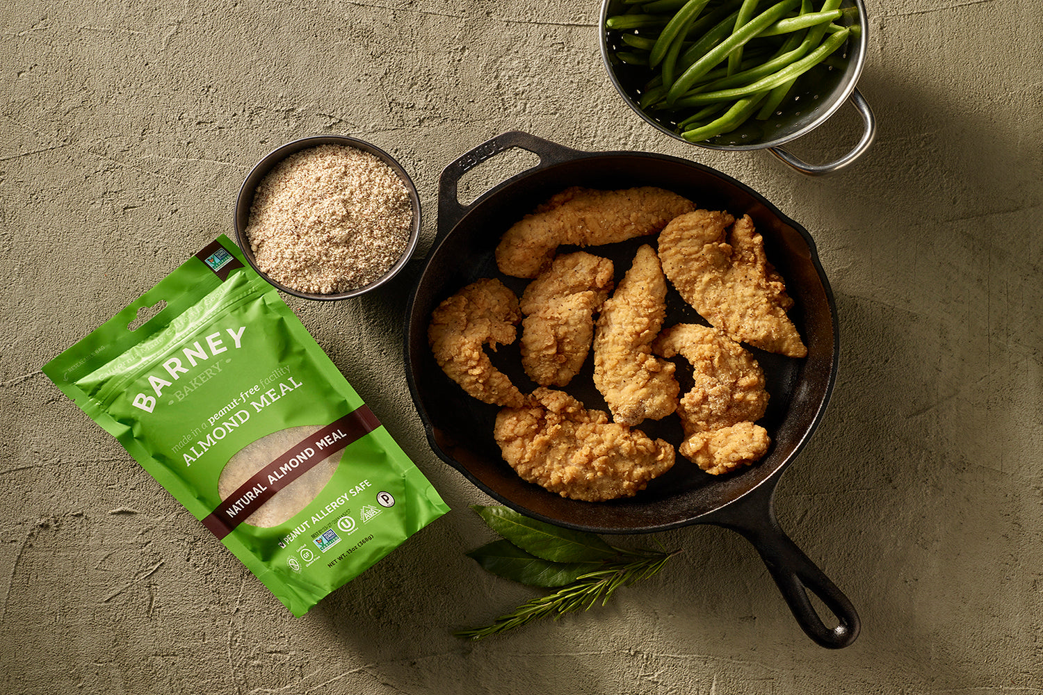 Gluten-Free, Low-Carb Oven-Fried Chicken Tenders