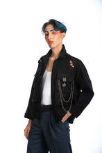Load image into Gallery viewer, Black Friday Denim Jacket