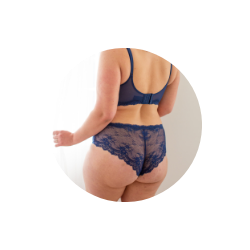 Modern Match Cheeky Panty is the best underwear shape for H-shaped butts