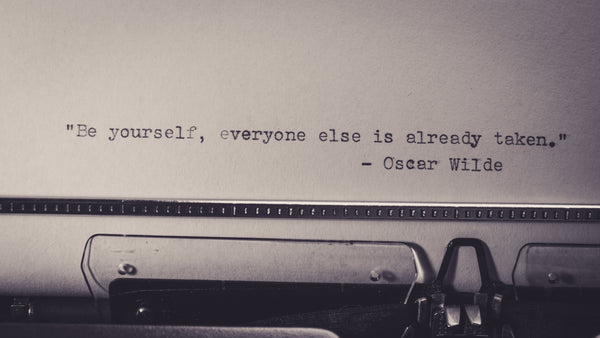 Oscar wild. Be Yourself