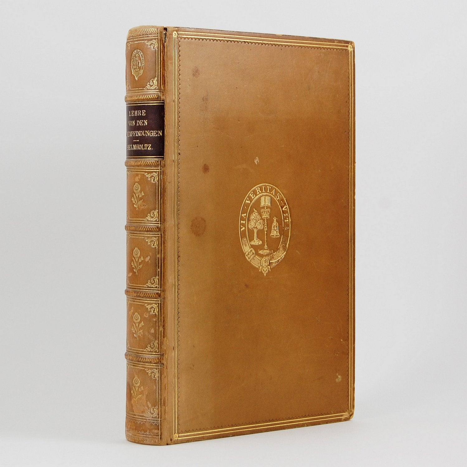 A School Prize Binding Inscribed by William Thomson, Baron Kelvin