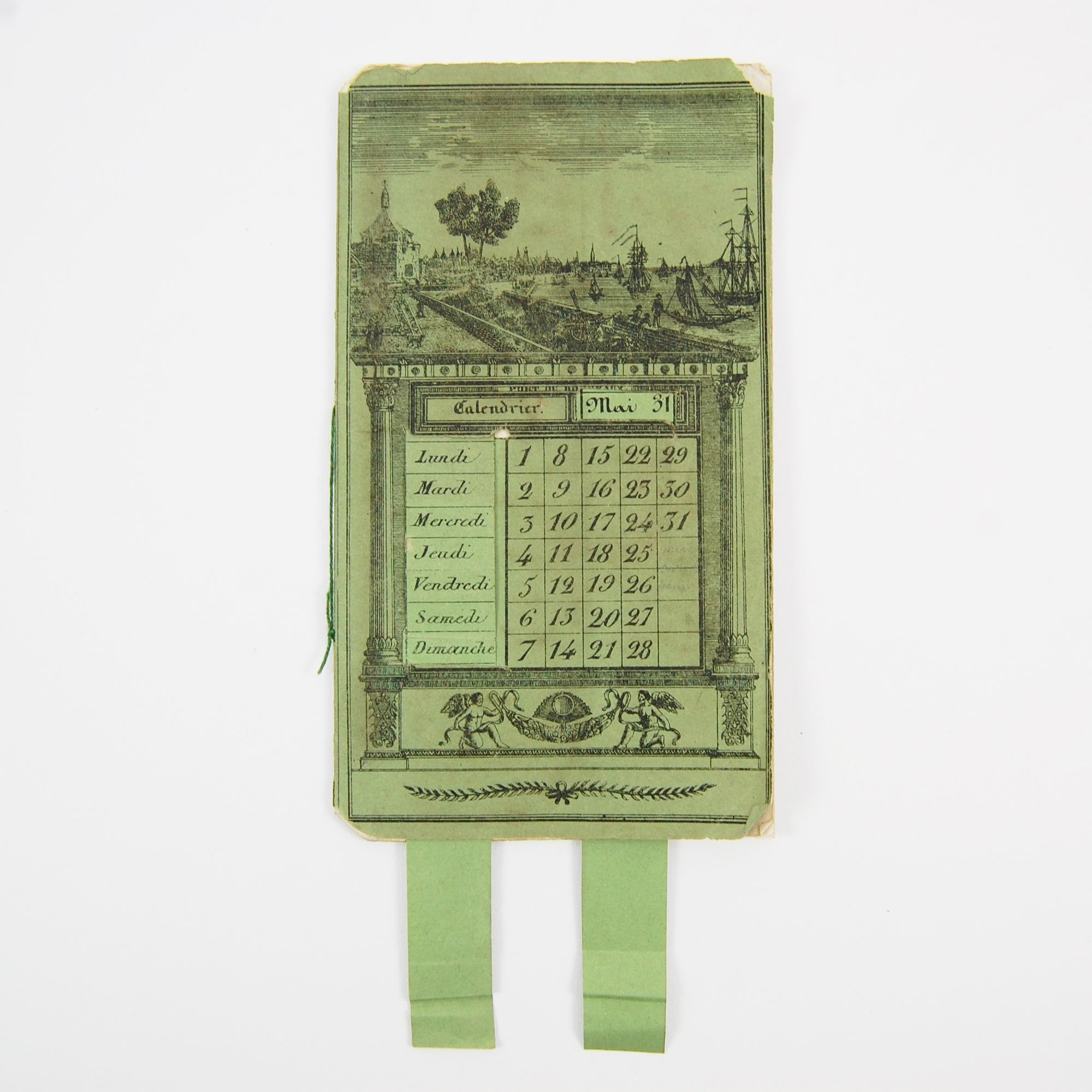 Keeping Time in Your Pocket - A Rare French Perpetual Calendar & Notebook