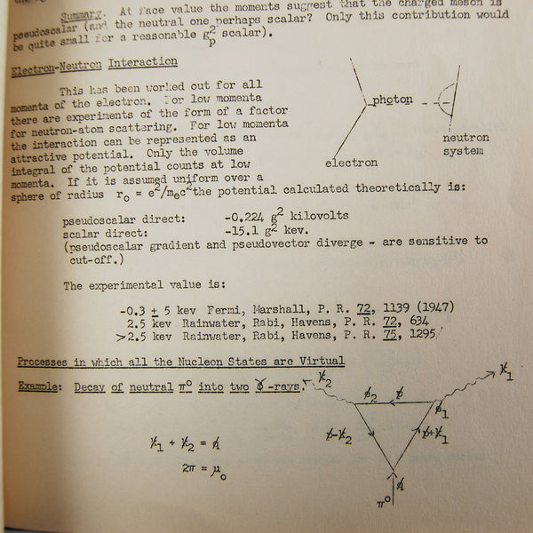 High energy phenomena meson theories by richard feynman rare this volume is thus a key historical resource for understanding the evolution of feynman diagrams and their uses in fields beyond quantum electrodynamics ccuart Choice Image