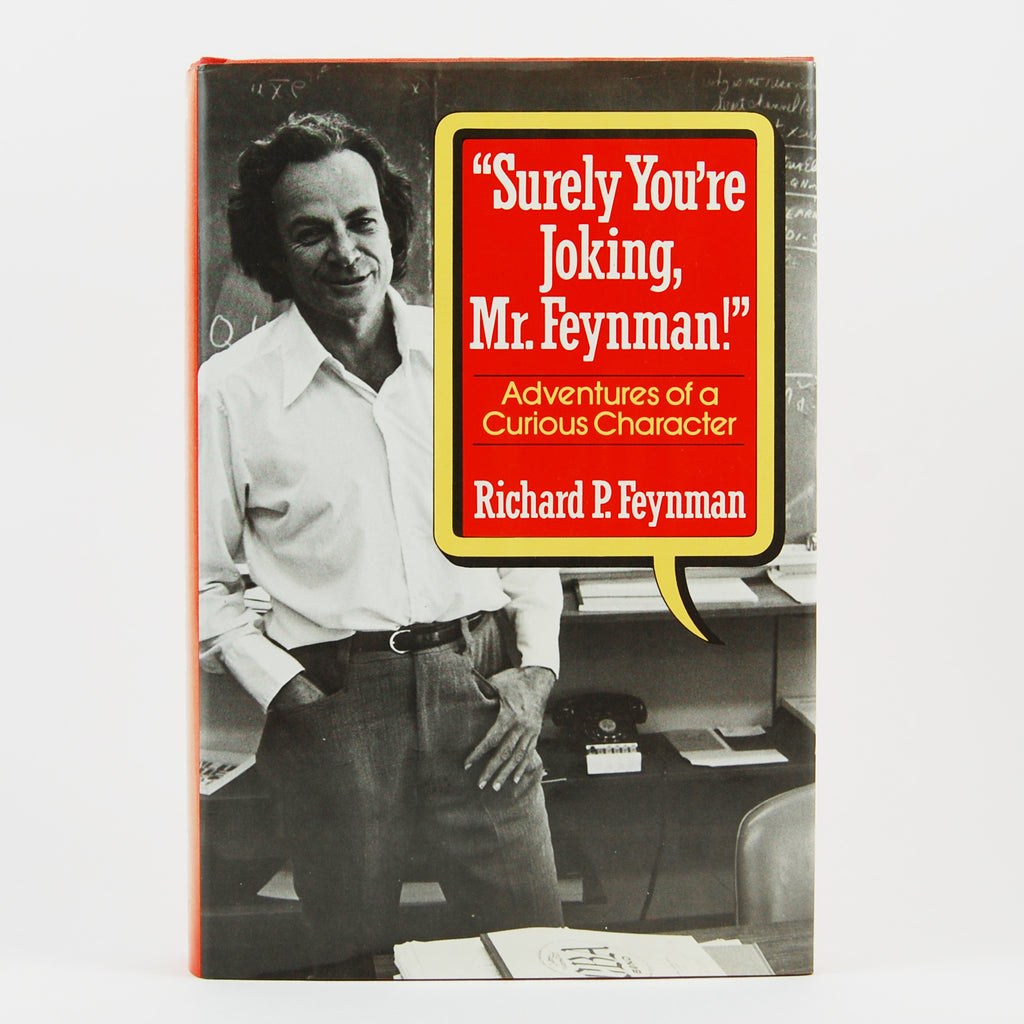 First edition of Surely You're Joking Mr. Feynman