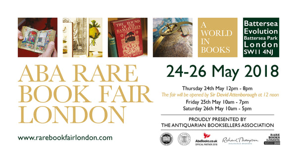 ABA Rare Book Fair London Ticket