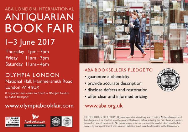 Olympia Book Fair Tickets
