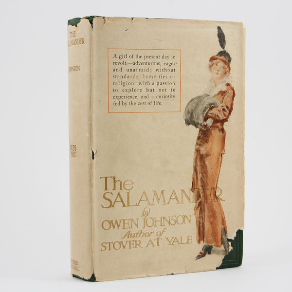 First edition of The Salamander by Owen Johnson, with the rare dust jacket.