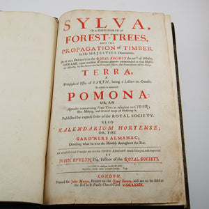Evelyn, John | Sylva, or a Discourse of Forest-Trees, and the Propagation of Timber in His Majesties Dominions