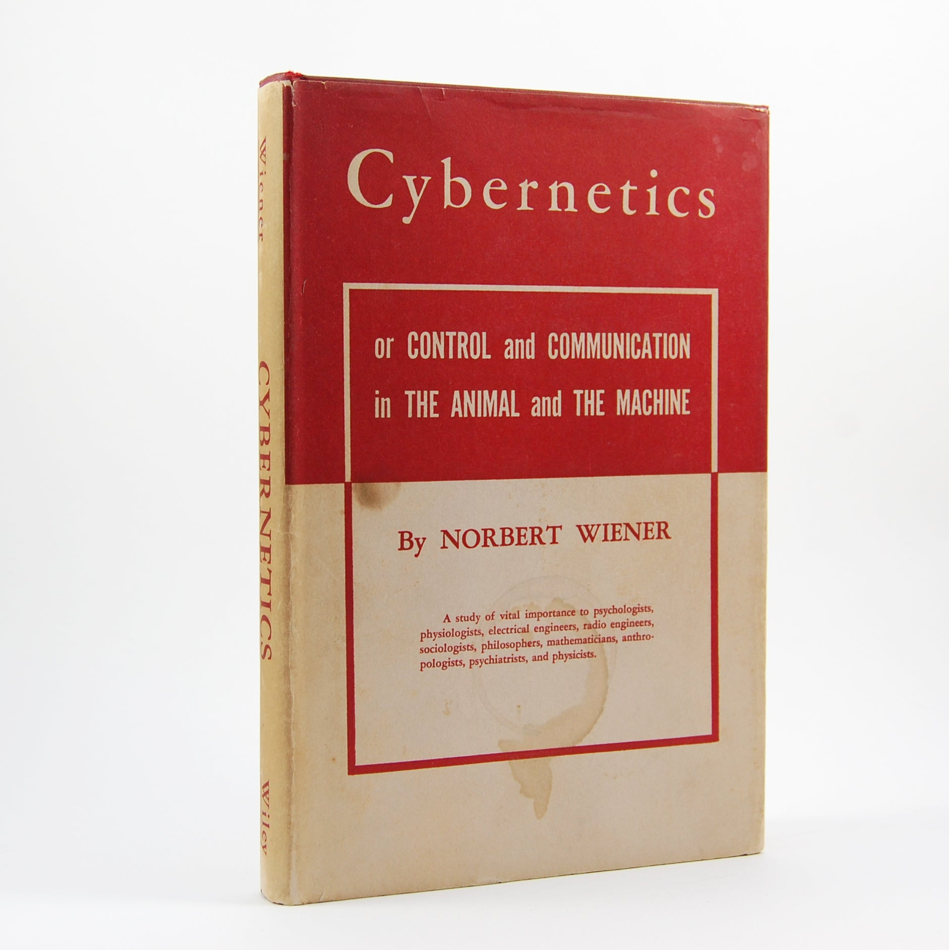 Wiener, Norbert | Cybernetics or Control and Communication in the Animal and the Machine