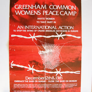 [Embrace the Base] Greenham Common Women's Peace Camp Invite Women to Take Part in an International Action